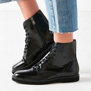 Urban Outfitters Shoes - NWOT Urban Outfitters Jade Combat Boot, Black 6